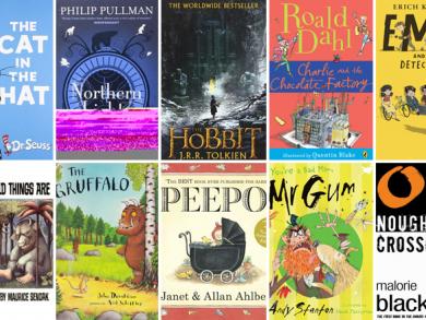 The ten greatest kids' books ever!
