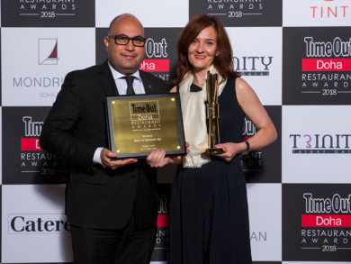 Time Out Doha Restaurant awards 2018: Winners