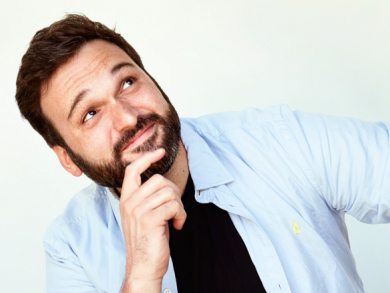 Comedian Nemr Abou Nassar reveals why he never worries that audiences won't laugh at his jokes