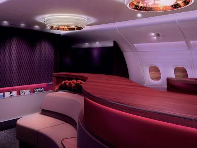 Inside Qatar Airways' incredible first class
