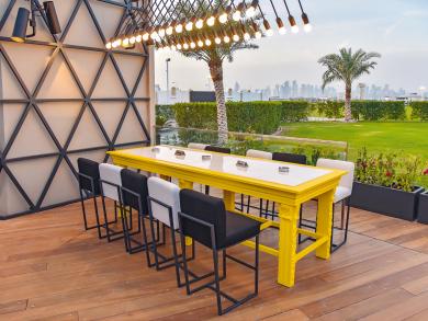 International open-air bar Iris opens in Doha