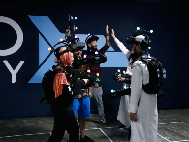 Middle East's first virtual reality gaming centre opens in Qatar