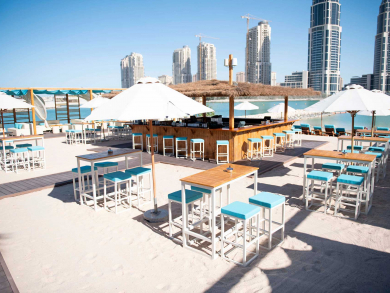 Brand-new beach bar Monkey Tale