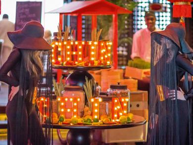Chin Chin brunch at Spice Market Doha