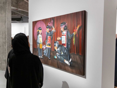 You need to check out the new exhibition at Doha Fire Station