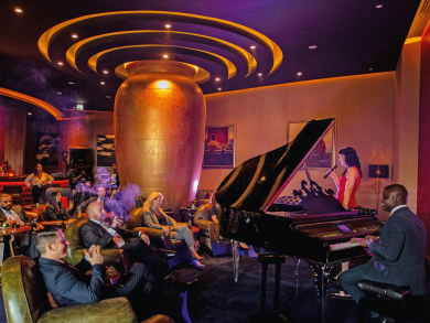 New Orleans-themed jazz bar in Doha