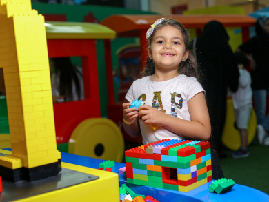 Awesome LEGO activities for free in DFC