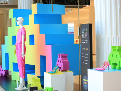 There's a new playground at Galeries Lafayette Doha