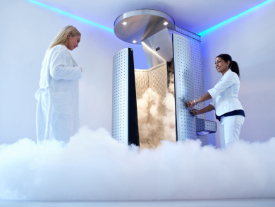 Check out Qatar's only cryosauna