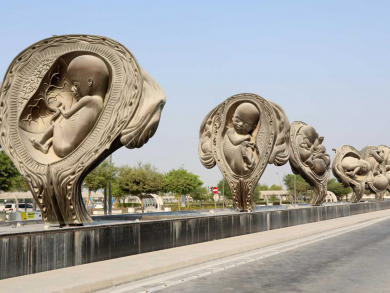 Roadside artworks to check out in Doha