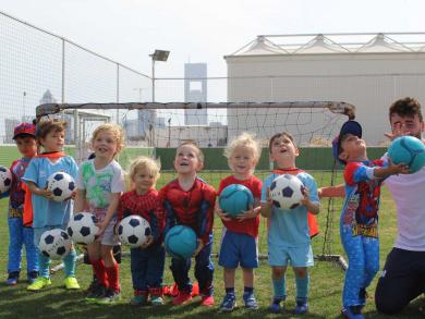 Doha's best football academies for children