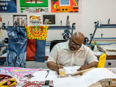 VCUarts Qatar is hosting a series of printmaking-themed events in Doha