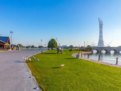 Eight great parks in Doha