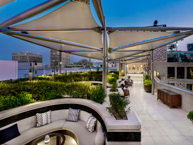 Check out this brand-new alfresco spot at Mandarin Oriental, Doha