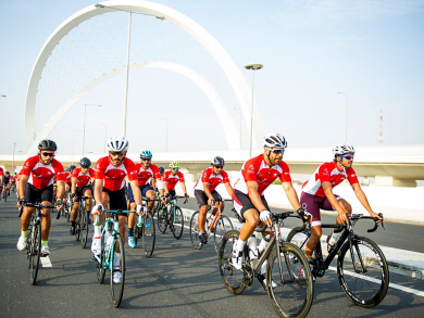 Things to do in Doha: Cycle for charity