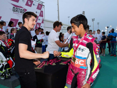 Sign your kids up to learn how to ride motorbikes in Doha