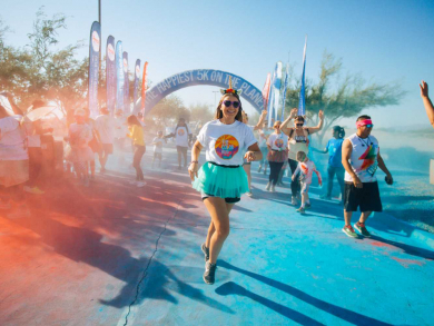 The Color Run takes place this weekend in Doha