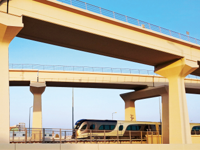 There's a brand-new tramway in Msheireb Downtown Doha