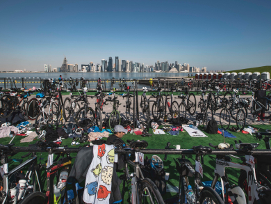 How you can sign up for the Doha Triathlon 2020