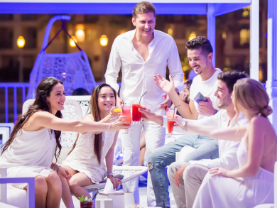Ladies night's in Doha on Thursday