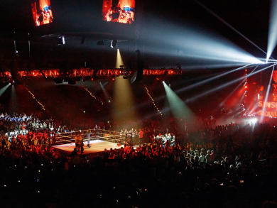 Watch the world's greatest wrestlers live in Doha