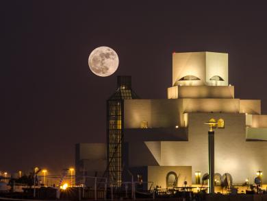 Don't miss the Supermoon in Qatar tonight
