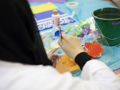 VCUarts Qatar launches new art therapy course