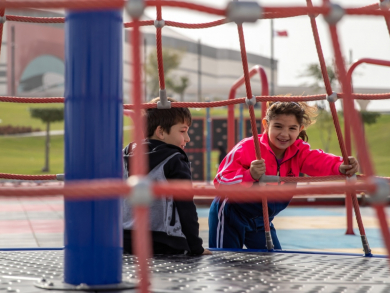 Three new parks in Qatar have opened