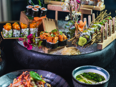 Get unlimited sushi at Zengo Doha on Wednesdays