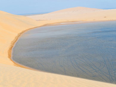 Three beaches in Doha where you can camp