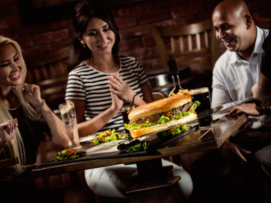 Massive burgers to try in Doha
