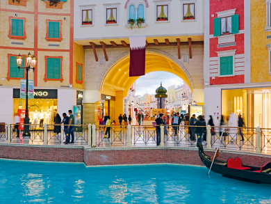 Where to go shopping in Doha with visitors