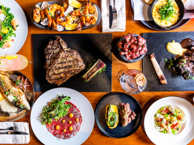 Check out the new menu at Hunters Room & Grill in Doha