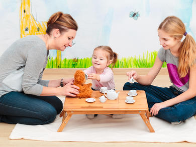 Six fun things to do with the kids indoors