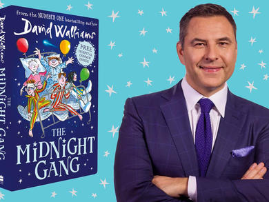 TV star and author David Walliams will be reading his stories to kids across Qatar