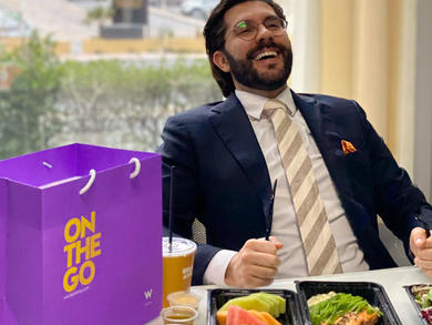 W Doha has a delivery deal for those working from the office