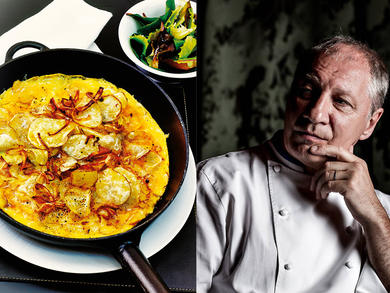Recipe: Potato crisp omelette