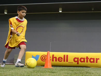 Koora Time has launched virtual football challenges in Doha