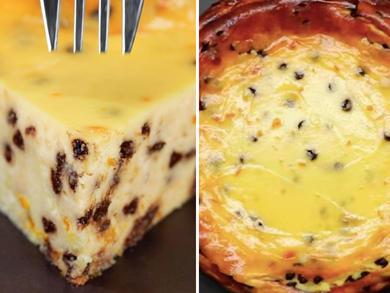 Recipe: Italian chocolate, orange and ricotta cake