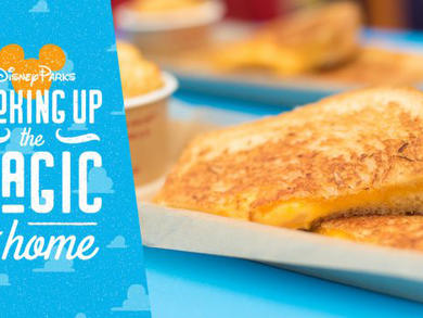 Recipe: Disney's grilled three-cheese sandwich from Toy Story Land