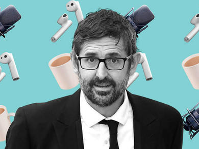 You can listen to Louis Theroux's first ever podcast here in Qatar