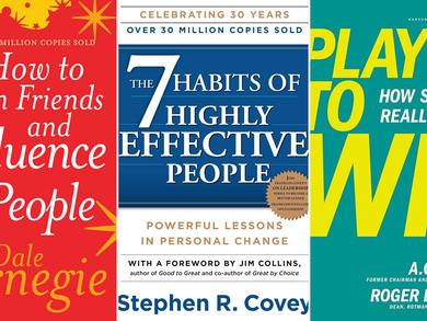 Five must-read self-improvement books