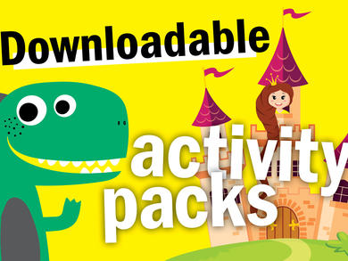 Two awesome kids' activity packs to download