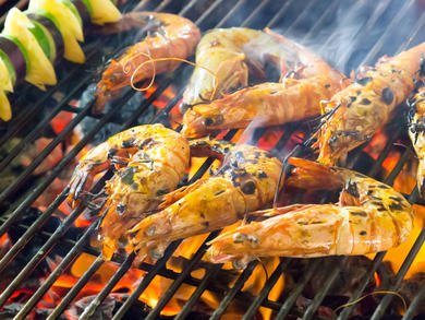 Order a seafood barbecue pack from Marriott Marquis City Center Doha