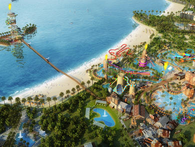 Huge waterpark to be built in Qetaifan Island North