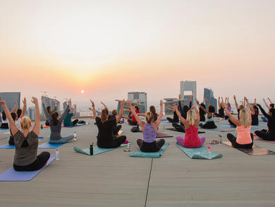 Eight top yoga classes in Doha