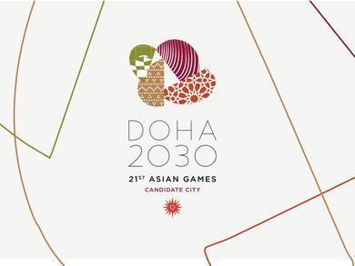 Qatar unveils Doha 2030 Asian Games bid slogan and logo