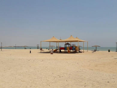 Al Farkiah Beach now open to women and children only two days a week