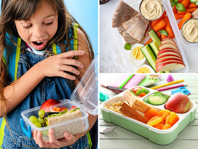 Healthy lunches for kids in Qatar