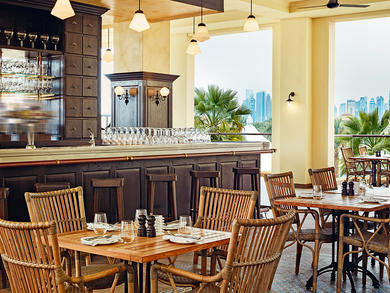 Doha's top bars with outdoor terraces